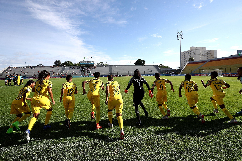 Agora a partida é contra a África do Sul