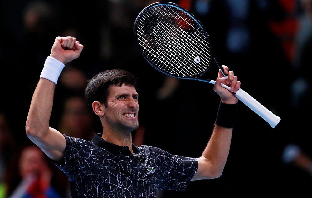 Novak Djokovic bate Kevin Anderson e avança à final do ATP Finals
