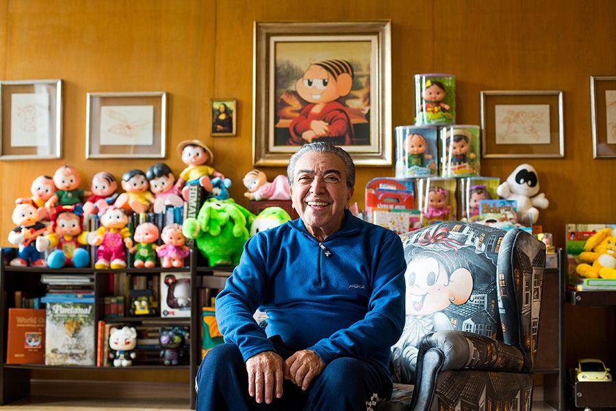 """Aos 85 anos, Mauricio de Sousa diz que prepara """"Turma da Mônica adulta"""""""