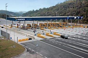 Praça de pedágio trecho de Paraibuna / TAMOIOS/Divulgação