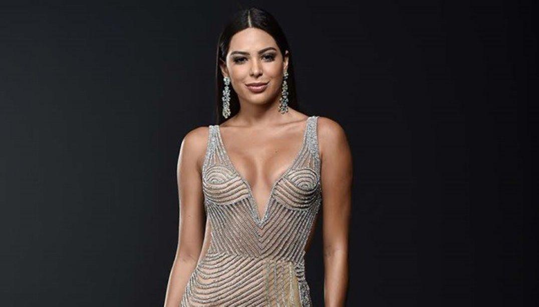 Veja o traje de gala de Mayra Dias para o Miss Universo