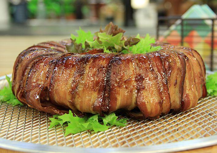 Bolo de carne com bacon / Divulgação