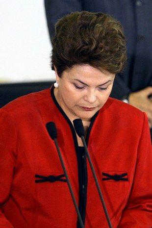 Dilma pediu um minuto de silêncio e disse que pode ir ao Rio