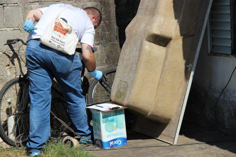 Arrastão contra o Aedes aegypti recolhe 7 toneladas de materiais