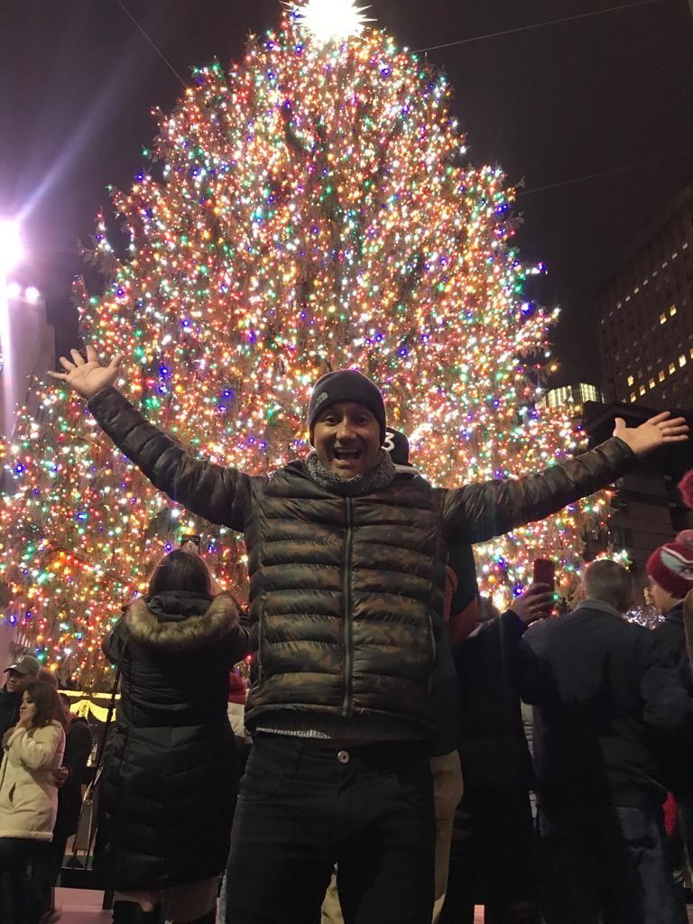 O clima de Natal em Nova Iorque