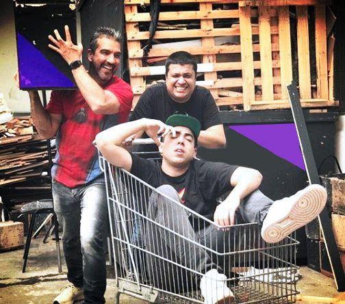 Emerson, Tadeu e Lucas Selfie comandam o programa / Divulgação / Band