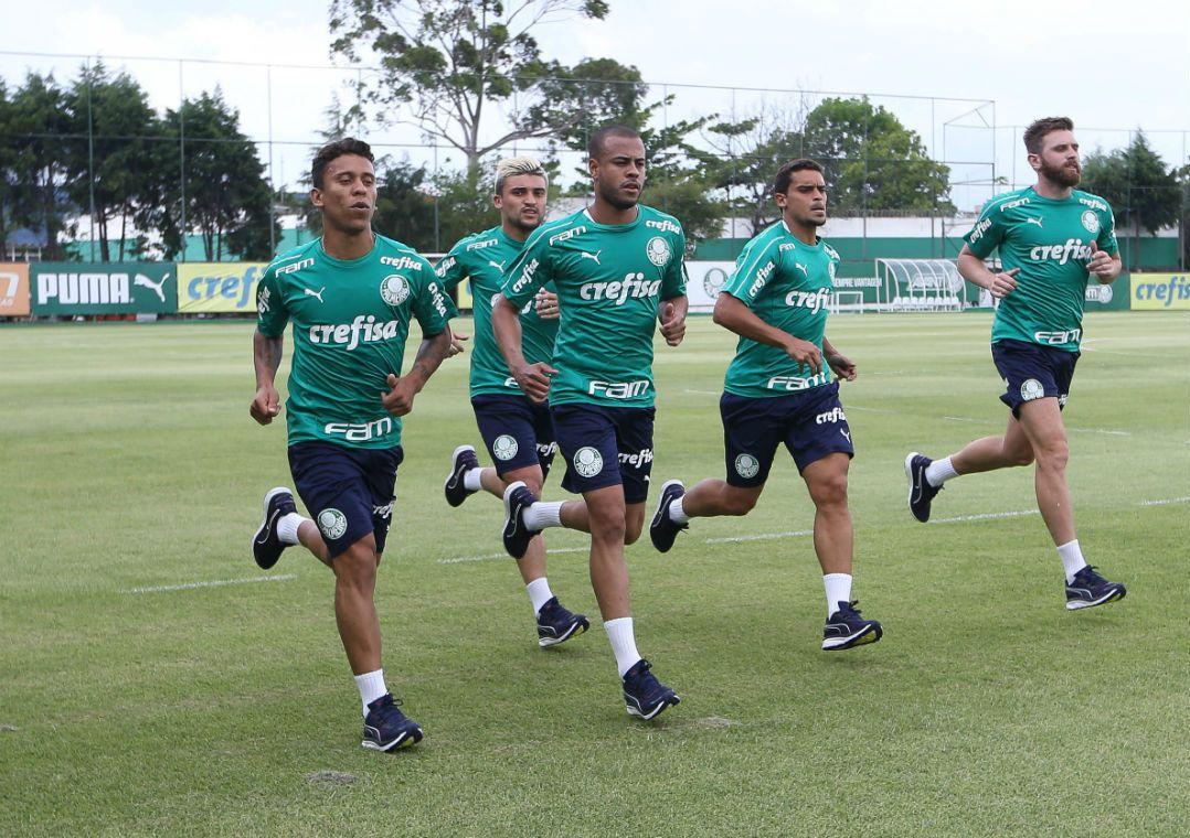 f2af8a55c86 Verdão estreou material esportivo de nova fornecedora (Foto  Cesar  Greco Fotoarena Estadão Conteúdo)