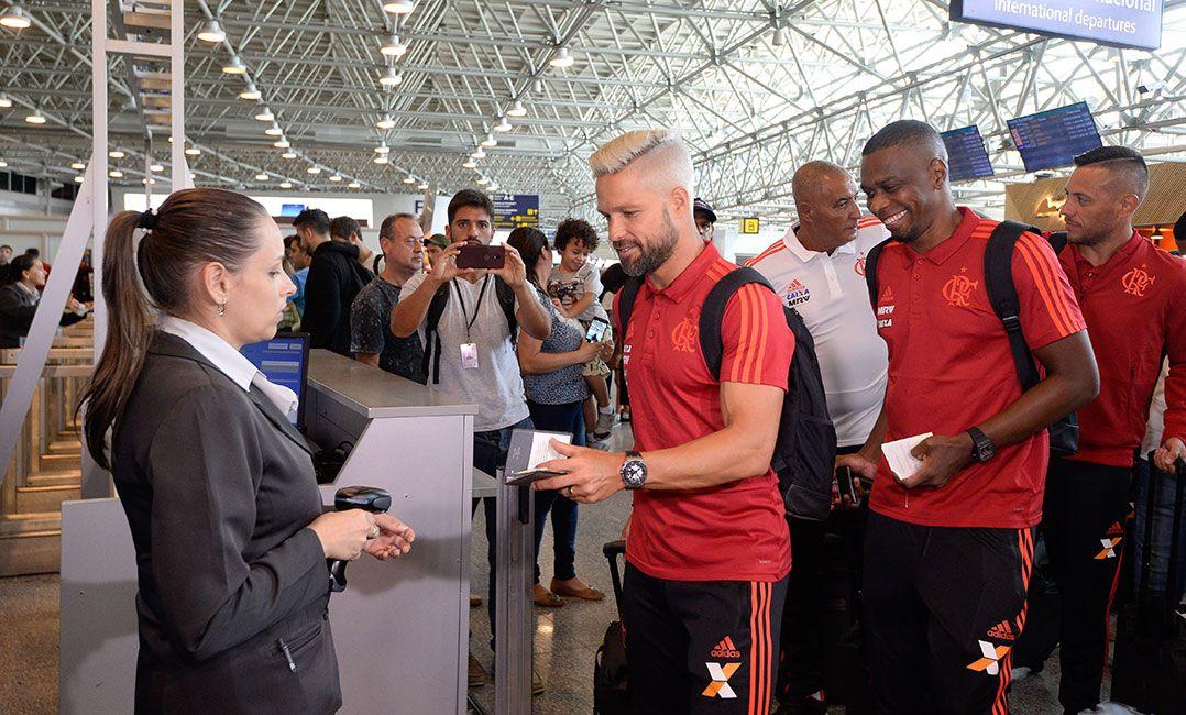 fe9d76e543 Flamengo embarca para a Florida Cup com 29 relacionados - Band.com.br