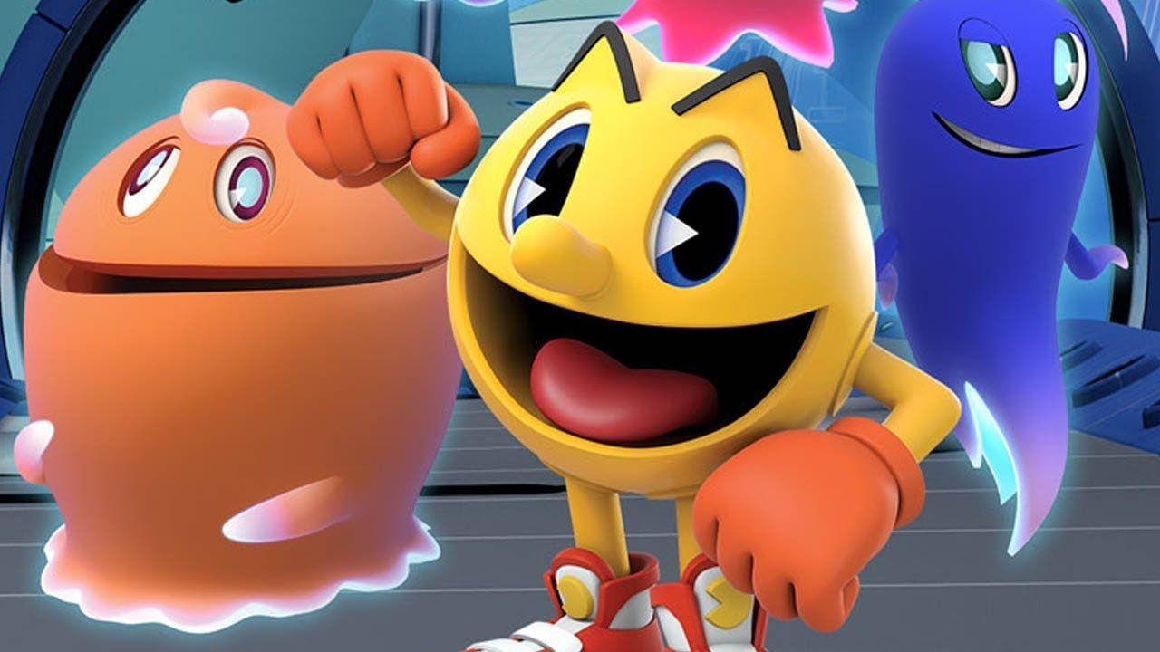 Cena do desenho Pac-Man / Divulgação / Band