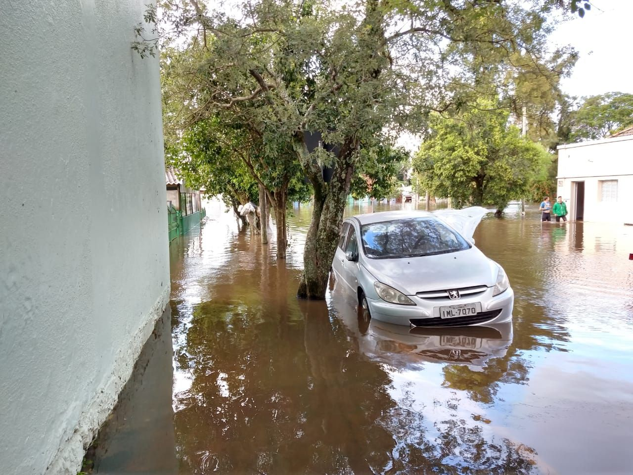 O município de Alegrete também está em estado de calamidade / Divulgação Portal Alegrete Tudo