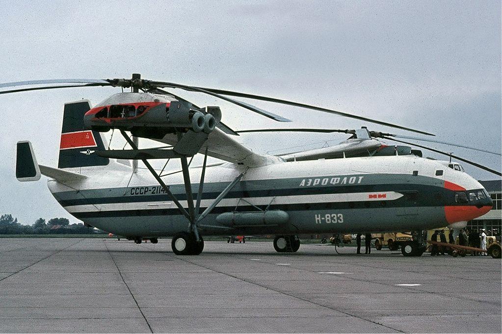 Sete recordes batidos por helicópteros russos