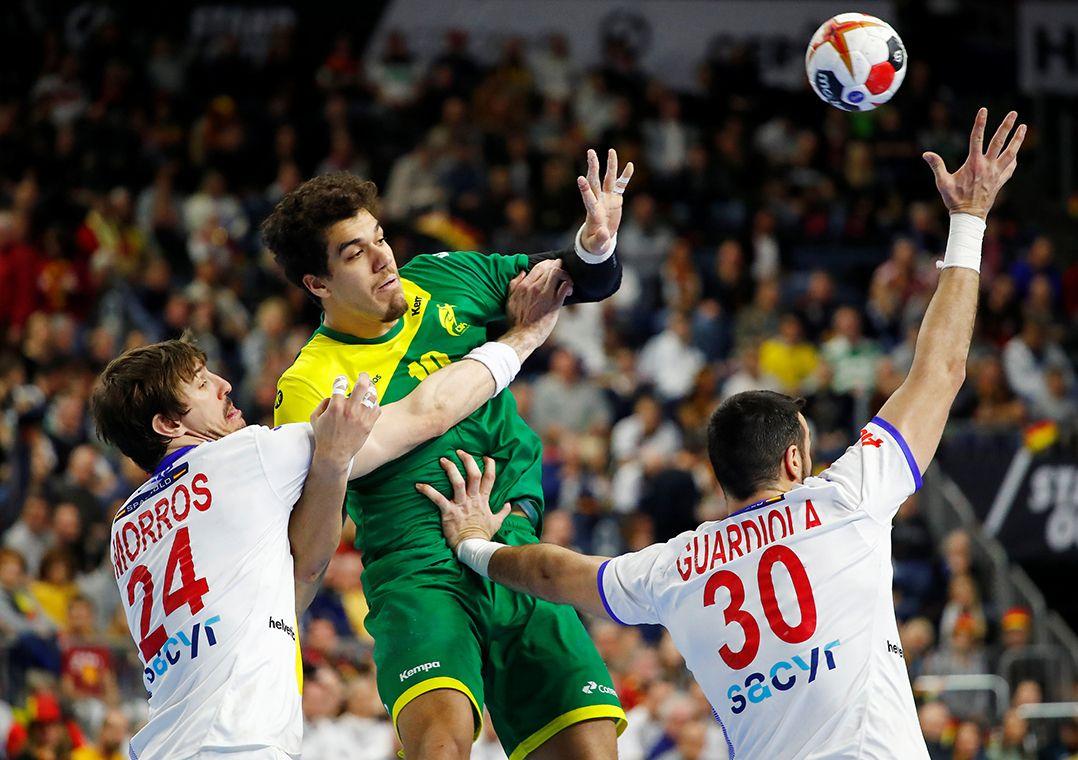 5f1c6ae916 Espanha é a atual campeã europeia de handebol masculino (Foto  Wolfgang  Rattay Reuters)