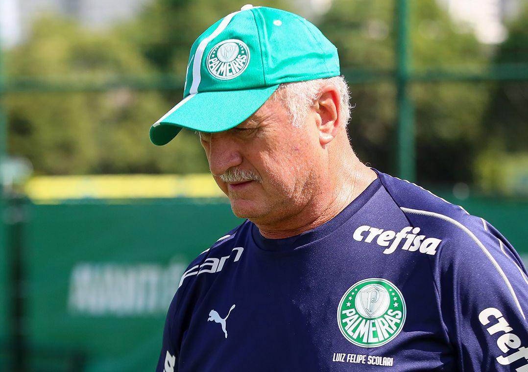 Recuperado, Felipão volta e faz testes com reservas do Palmeiras