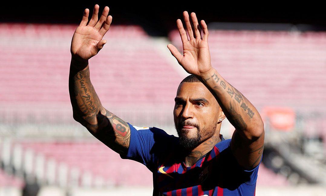 Boateng se diz opção para  camisa 9  no Barça 42c1722519bb3
