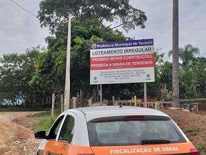 Terrenos são fiscalizados e impedidos de venda em Taubaté