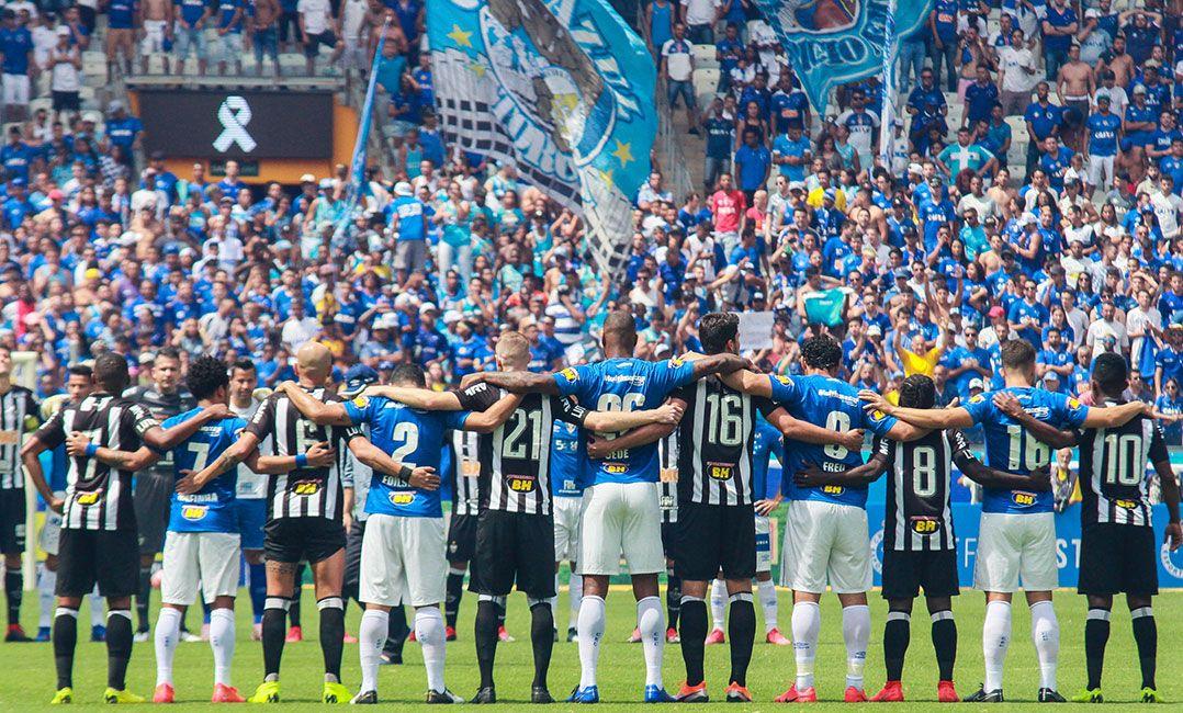 Jogadores de Cruzeiro e Atlético-MG homenageiam vítimas de Brumadinho 9abee4919ae3d