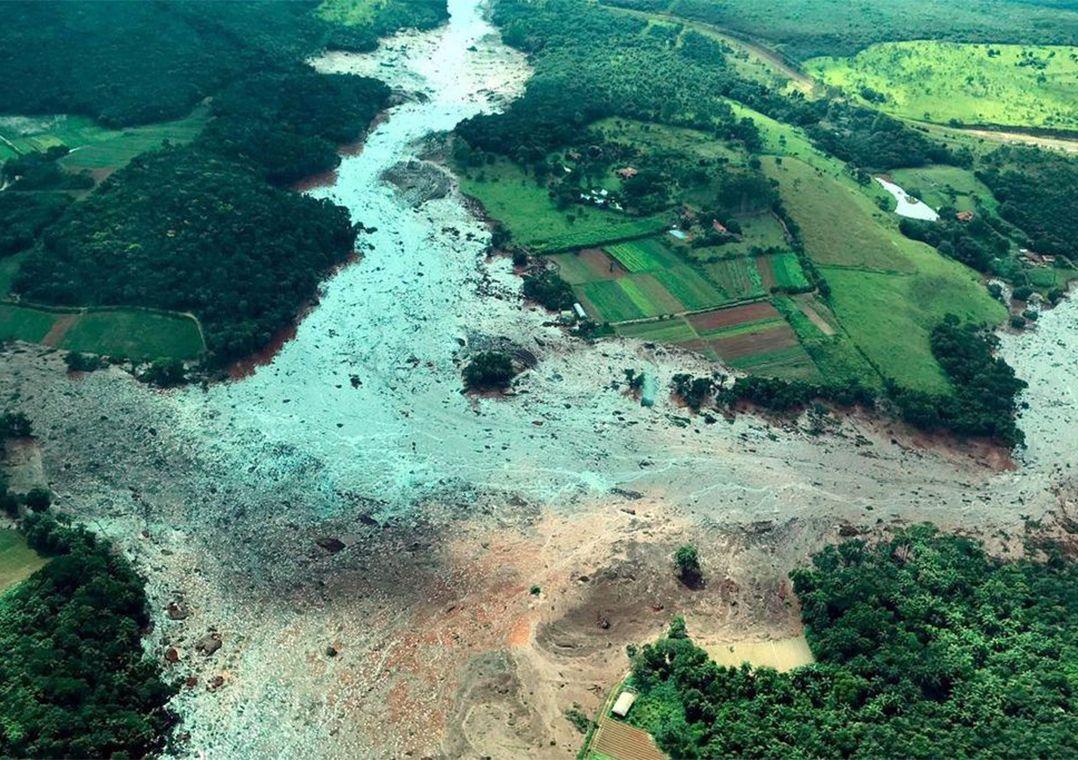 Resultado de imagem para PF prende 5 por rompimento de barragem de Brumadinho