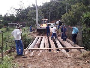 Ponte Interditada na Zona Sudeste de São José dos Campos