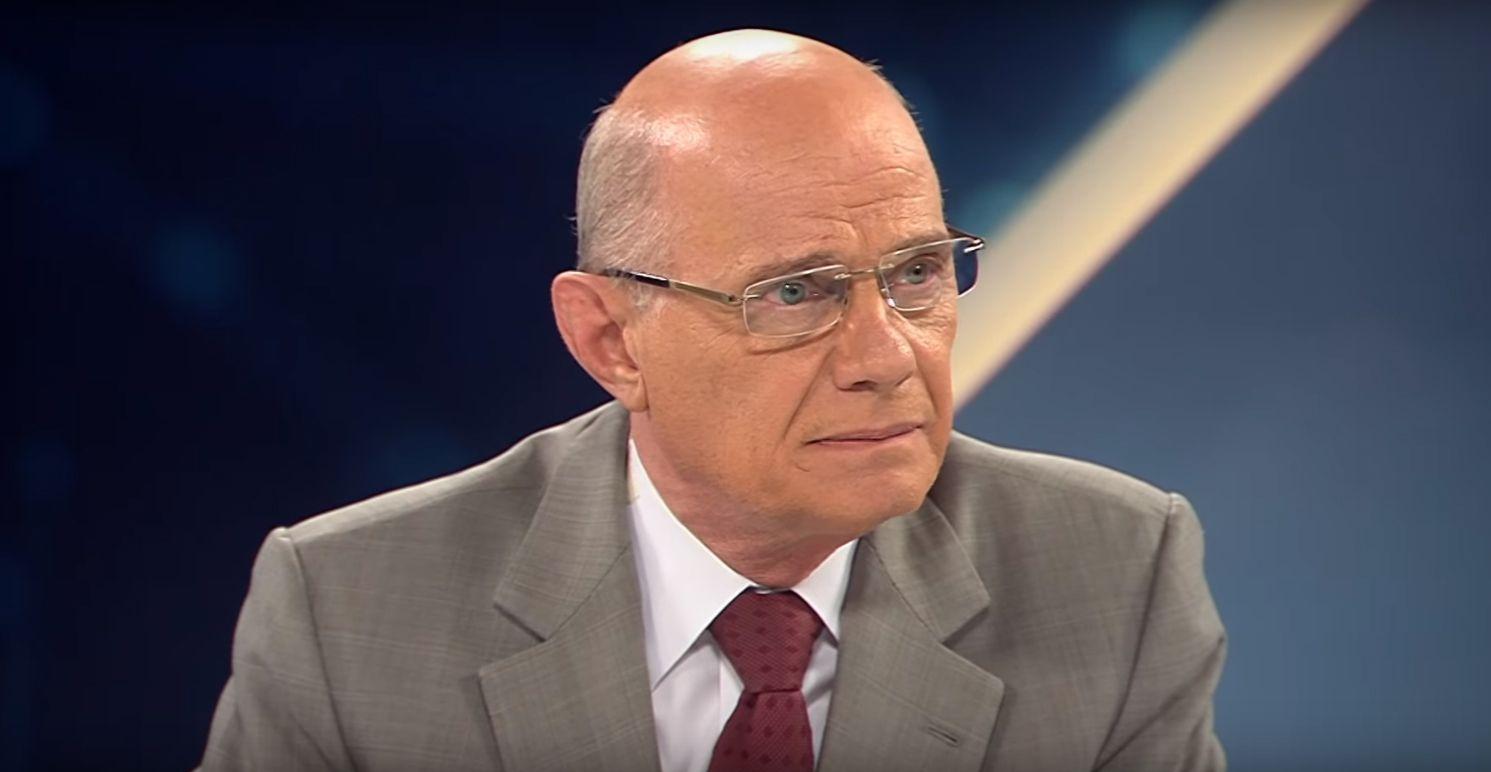 Ricardo Boechat em sua última apresentação no Canal Livre / Divulgação