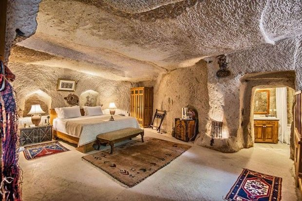 Quartos cavernas / Divulgação