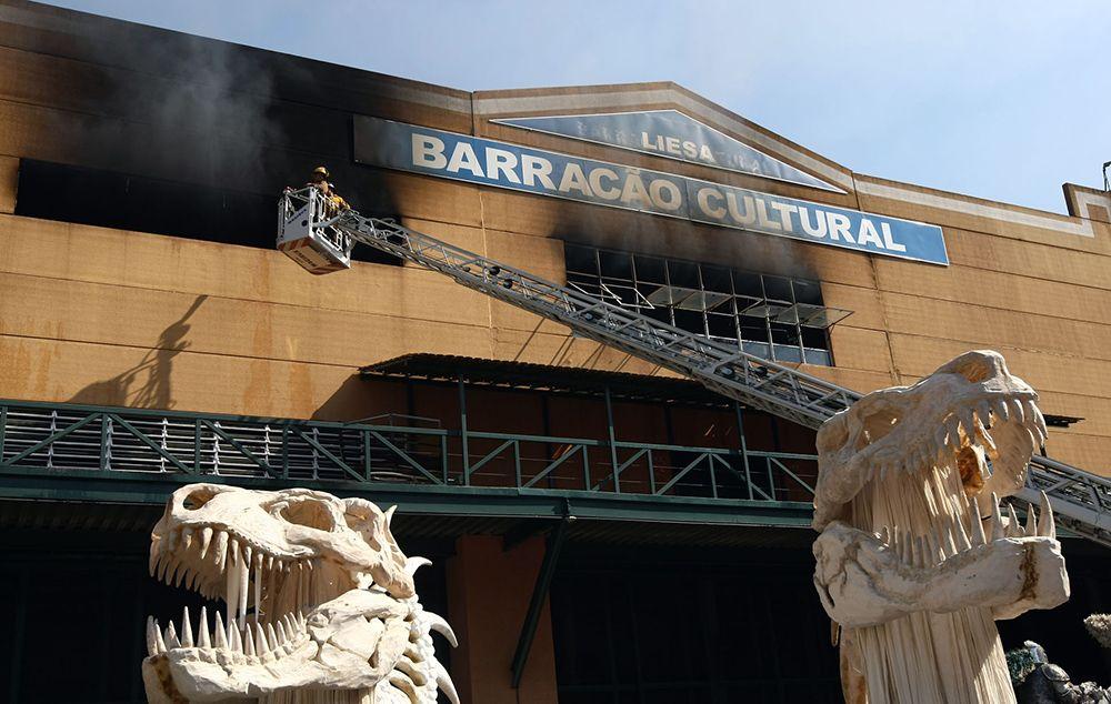 MPRJ pede interdição da Cidade do Samba por risco de incêndio