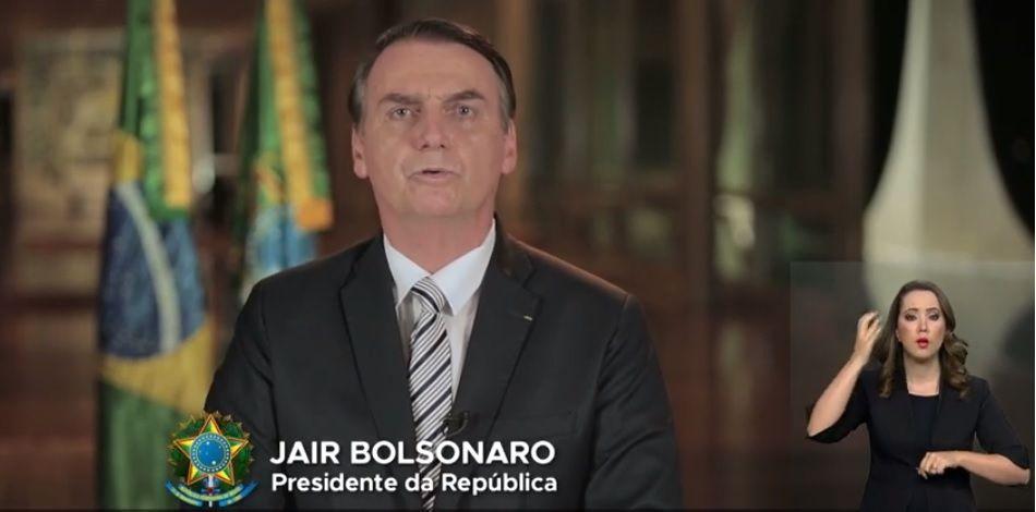 Bolsonaro faz pronunciamento para defender nova Previdência