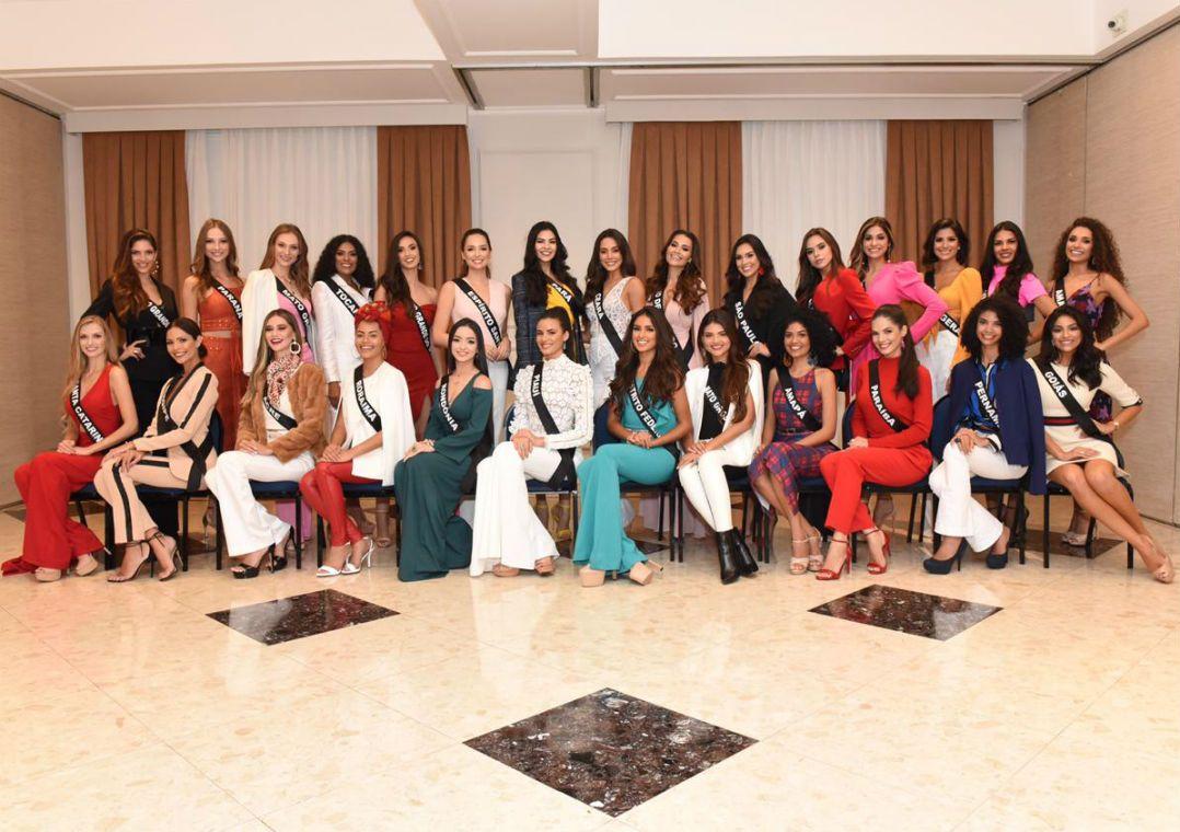 Candidatas à coroa de Miss Brasil são confinadas em Campos do Jordão