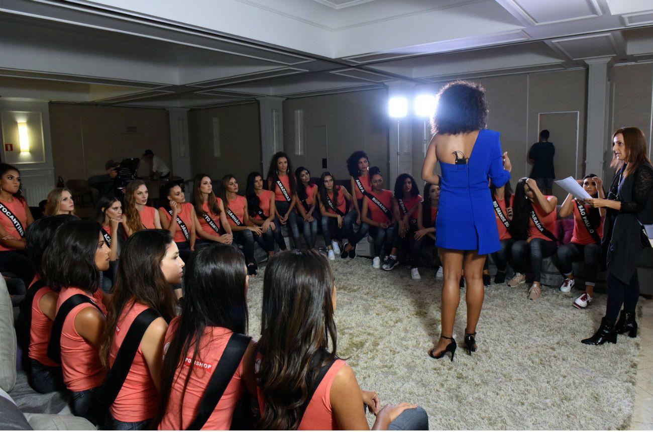 Diretora do Miss Brasil elogia evolução das candidatas