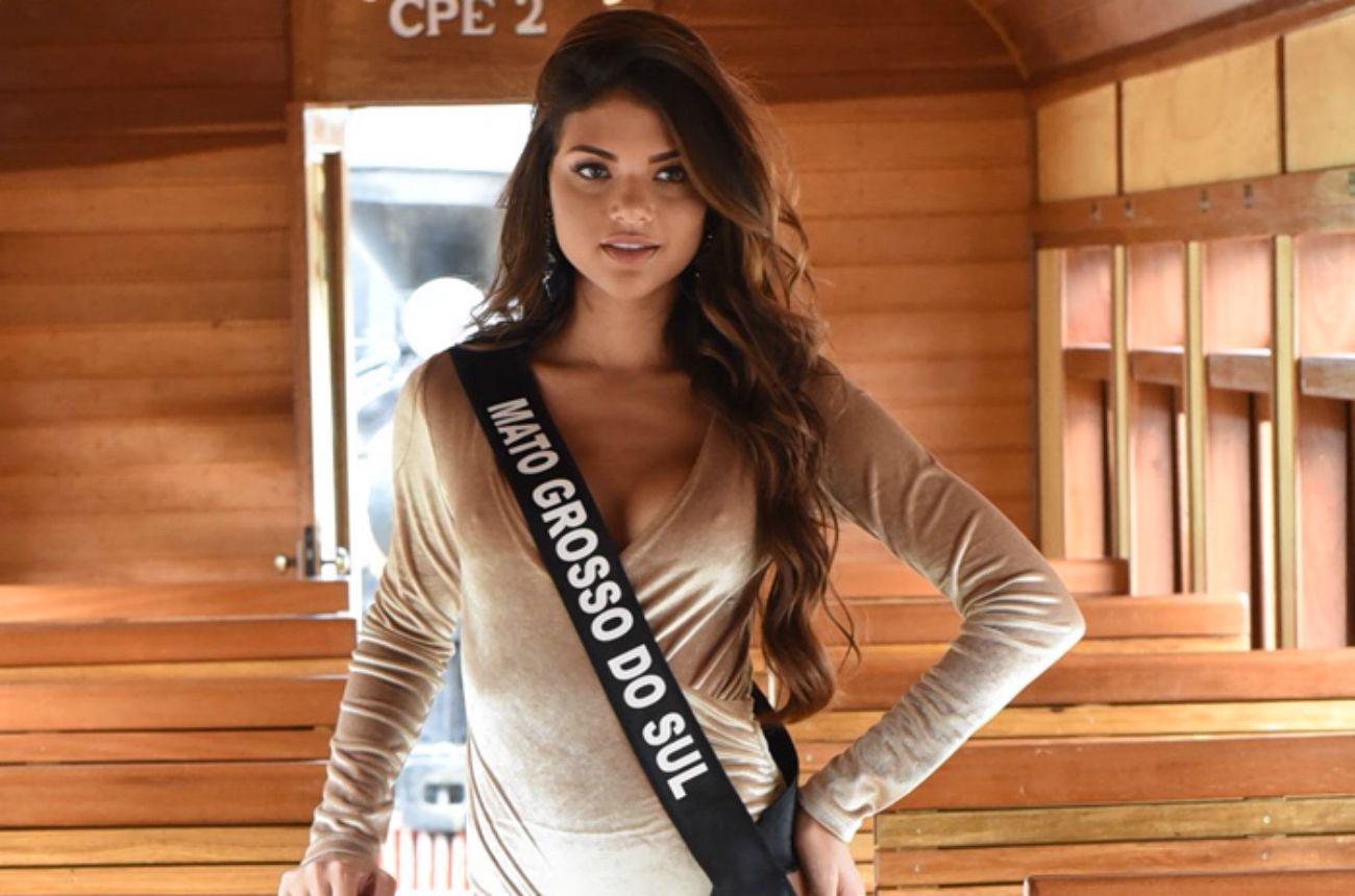 Miss MS: 'Não contei para ninguém que tinha me inscrito no concurso'
