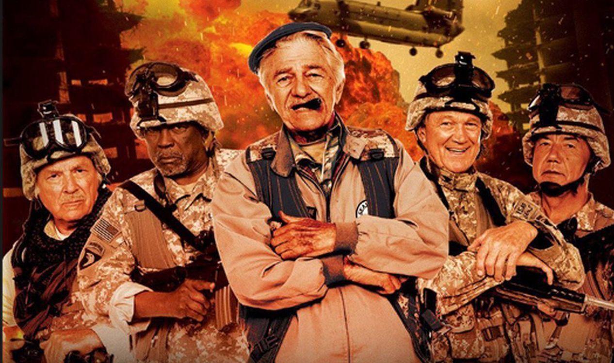 Eles são veteranos de guerra