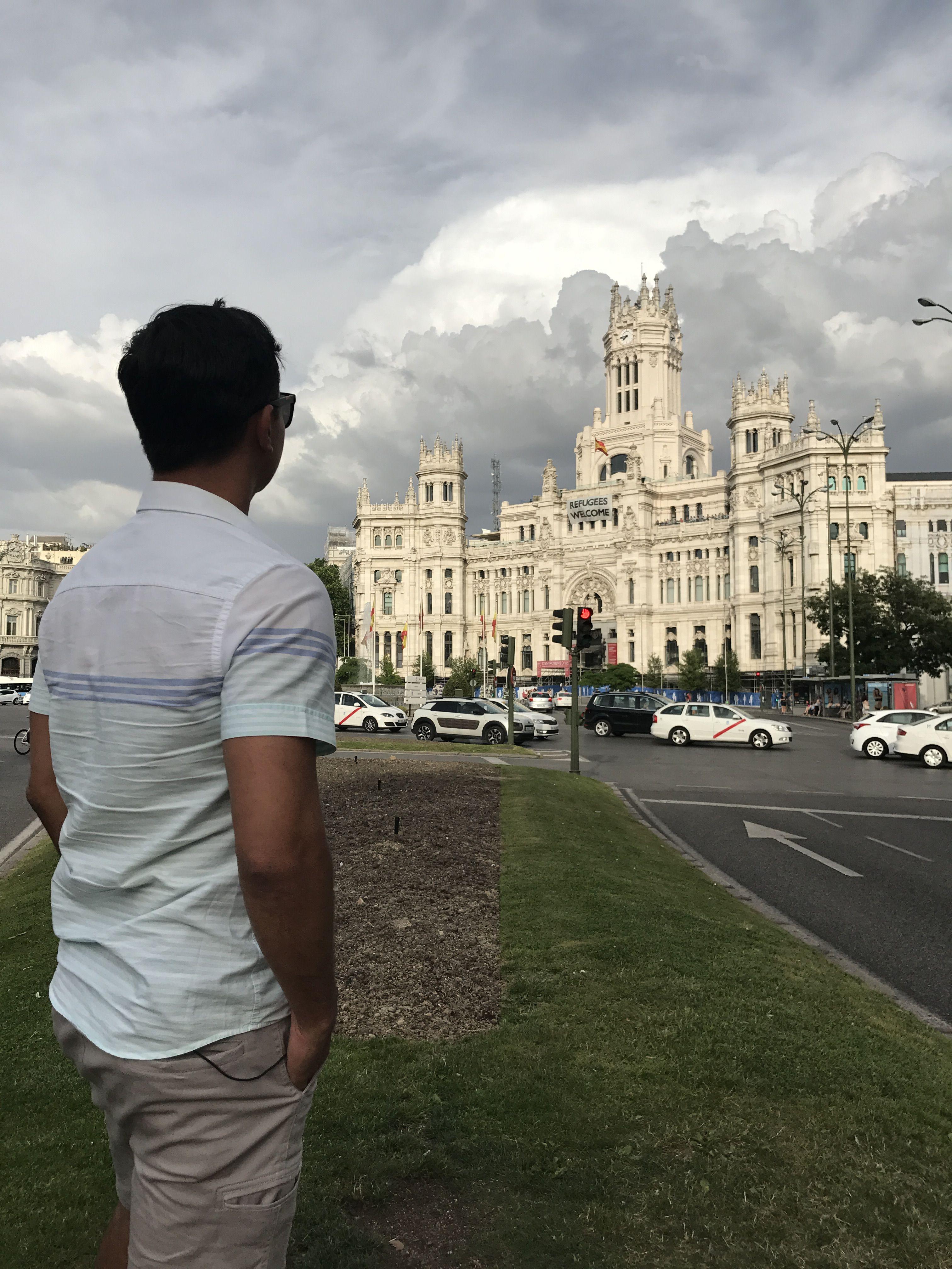 Rodrigo Ruas em Madrid / Divulgação