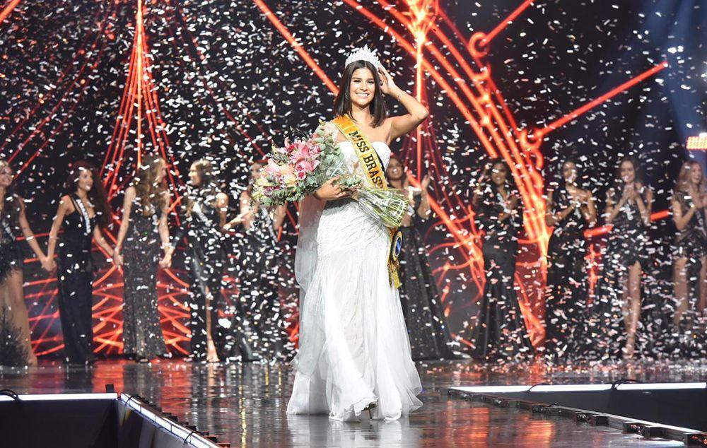 Candidata de Minas Gerais desbanca concorrentes e é eleita Miss Brasil