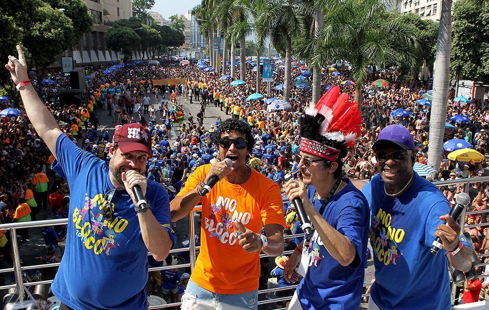 Monobloco fecha com paz o último dia de Carnaval no Rio de Janeiro