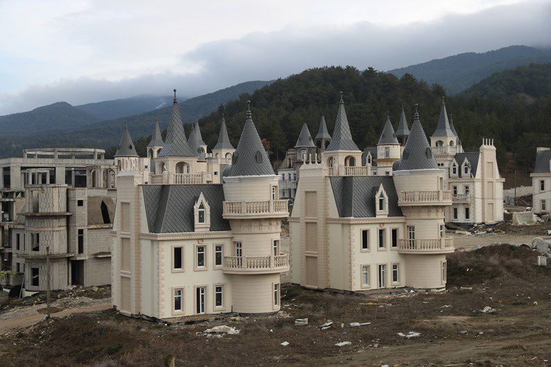 Os castelos de princesas