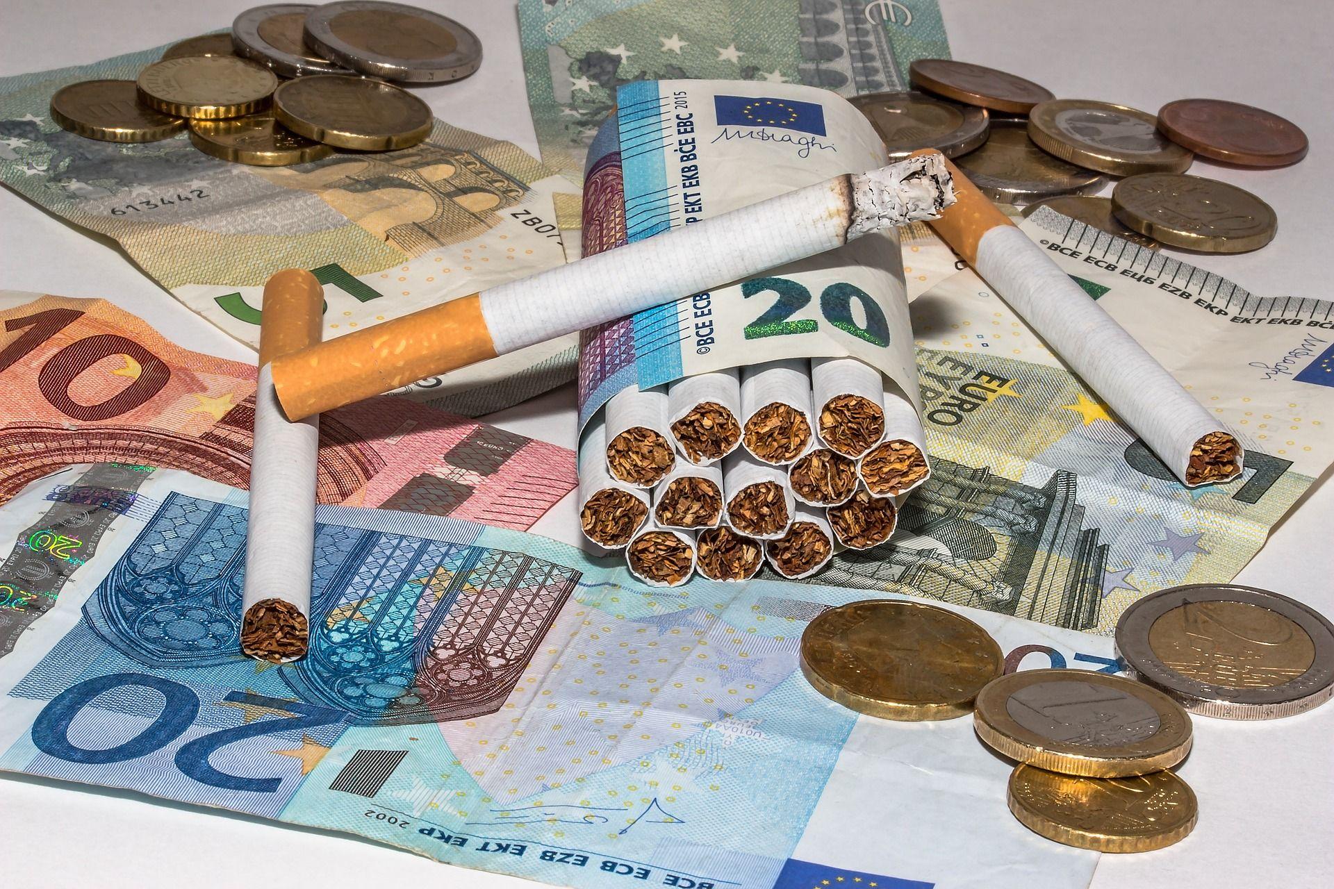 O tráfico do cigarro