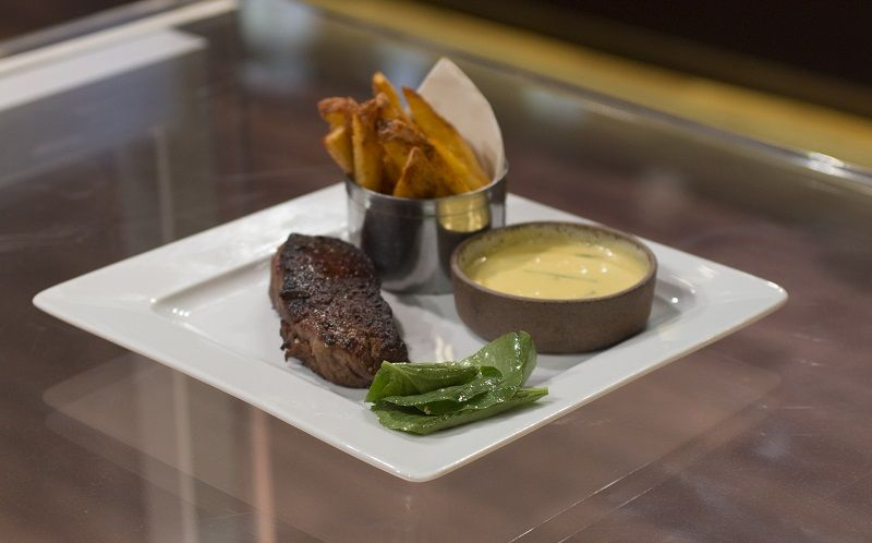 Bearnaise steak frites