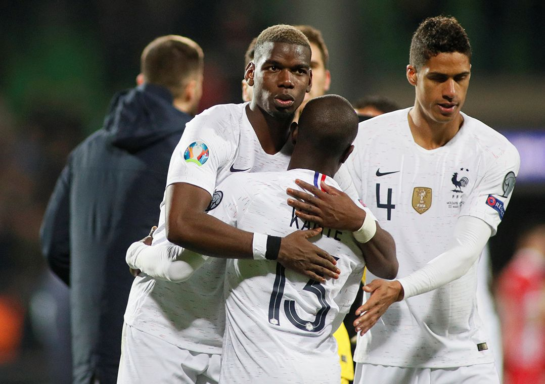 França goleia Moldávia na estreia nas Eliminatórias da Eurocopa