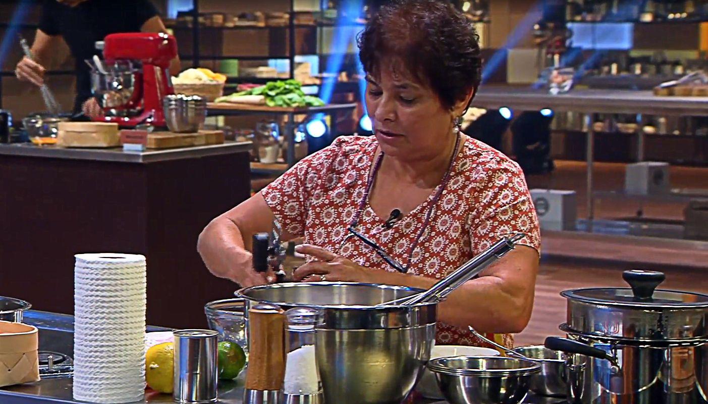 Dona Fátima no programa!