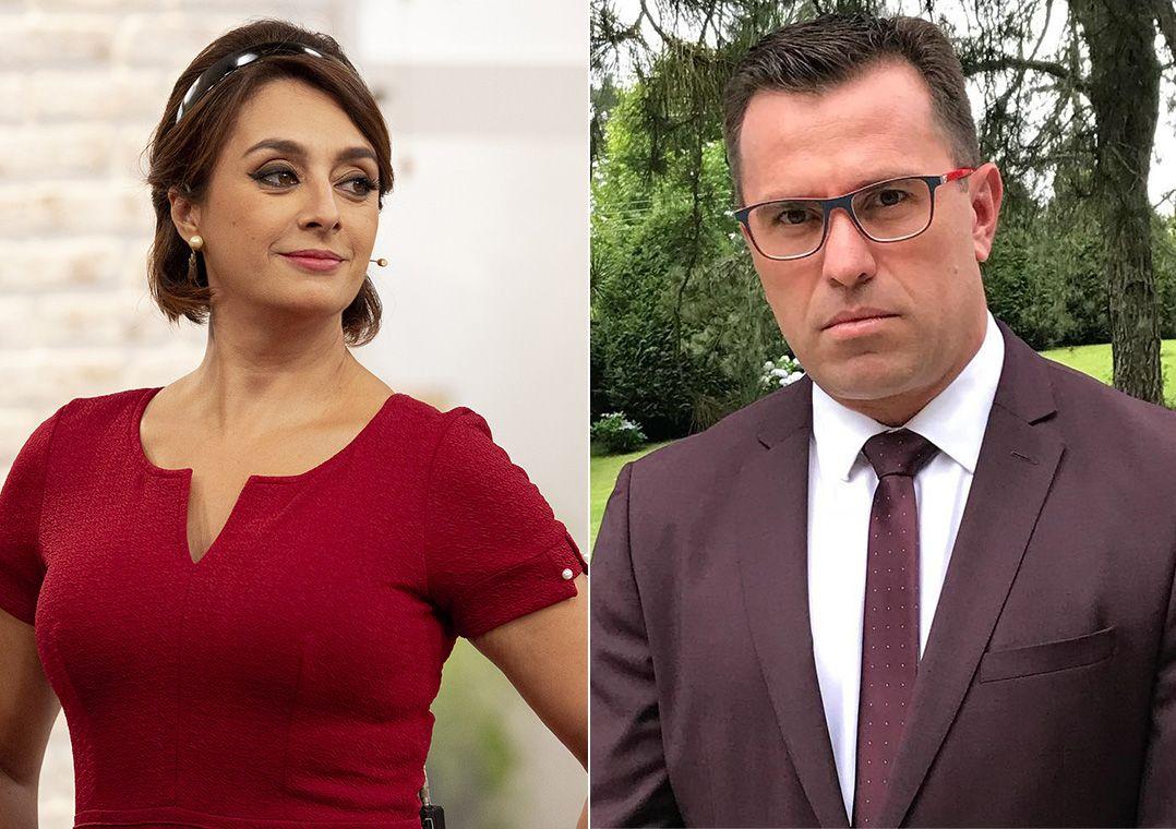 'Sou sua fã', diz Catia Fonseca após elogio de Rodrigo Bocardi