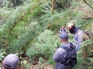 Bombeiros seguem à procura de Policial desaparecido em Piquete