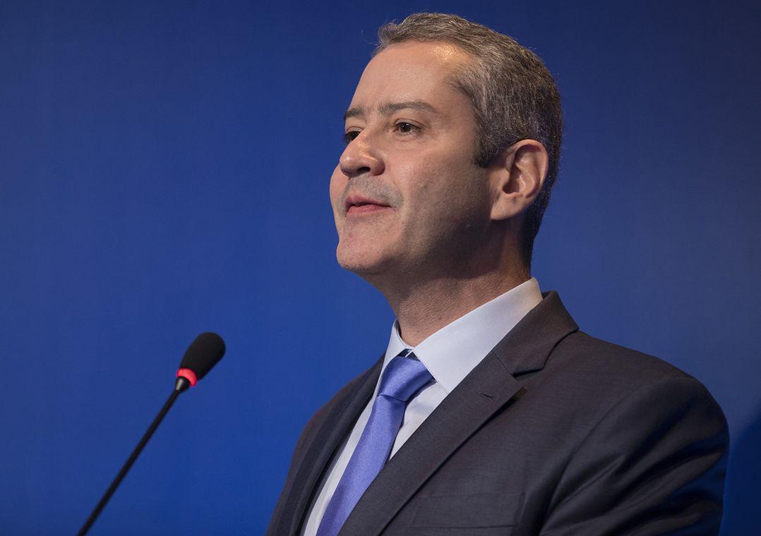 Rogério Caboclo foi eleito presidente da CBF em 2018