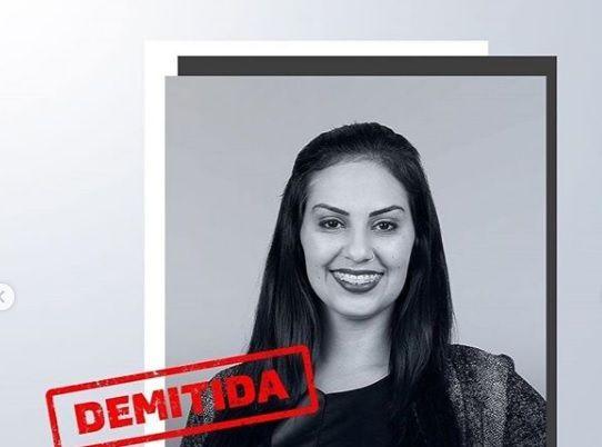 Julia Mendonça foi a quinta demitida