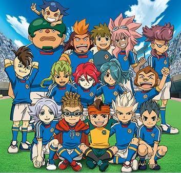 Conheça o time da escola Raimon