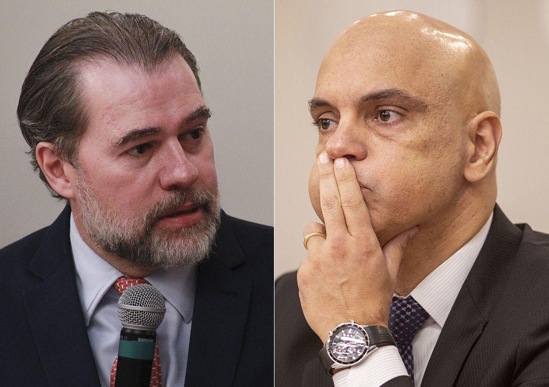 Resultado de imagem para Senadores já falam em impeachment de Toffoli e Moraes