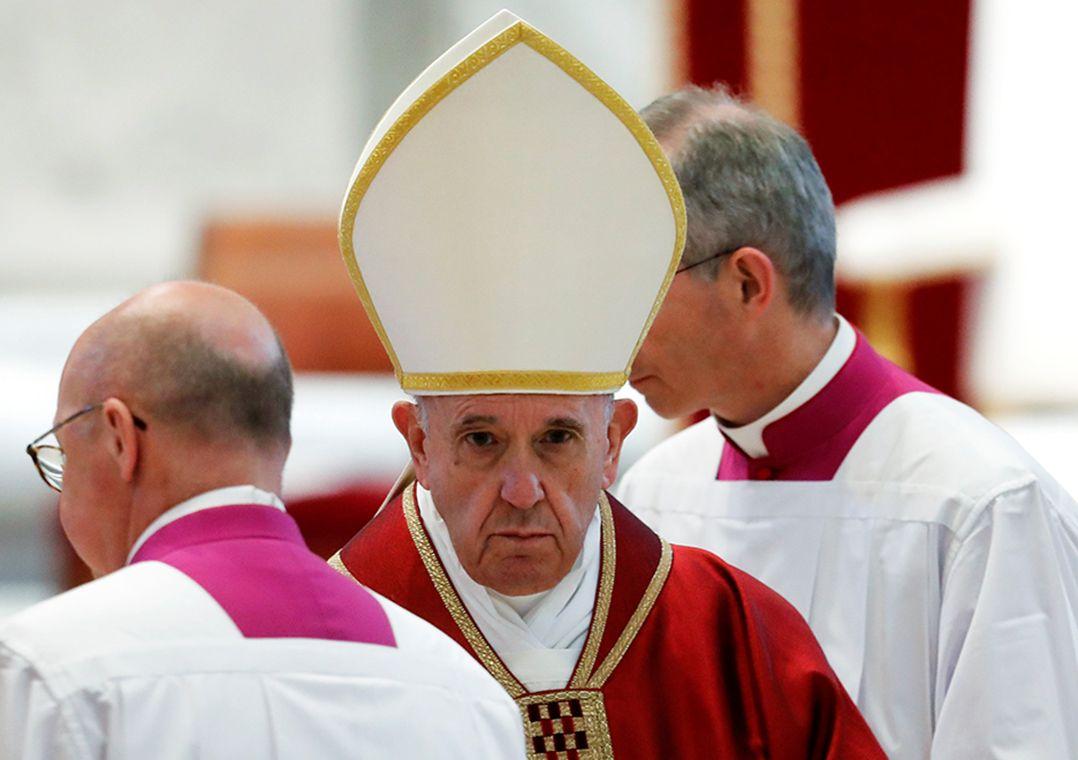 Em sermão, Francisco condena fechamento de fronteiras a imigrantes