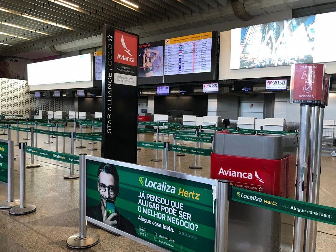 Avianca cancela mais de 1300 voos até dia 28