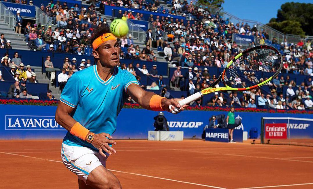 f53ecea9237 Rafael Nadal está nas quartas de final de Barcelona (Foto   Divulgaçao Barcelona Open Bancsabadell)