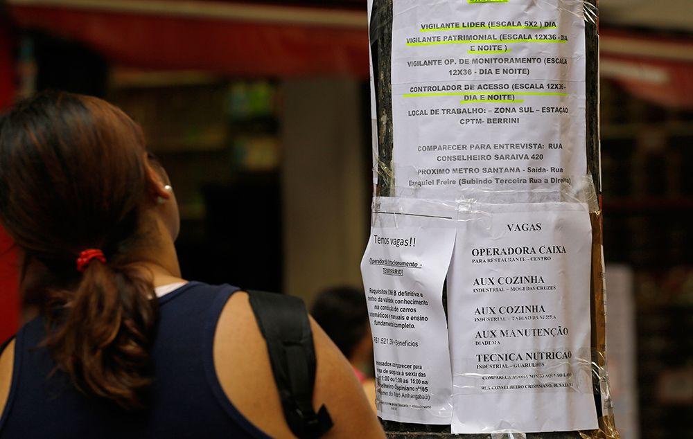 Desemprego aumenta 27,6% durante pandemia, afirma IBGE