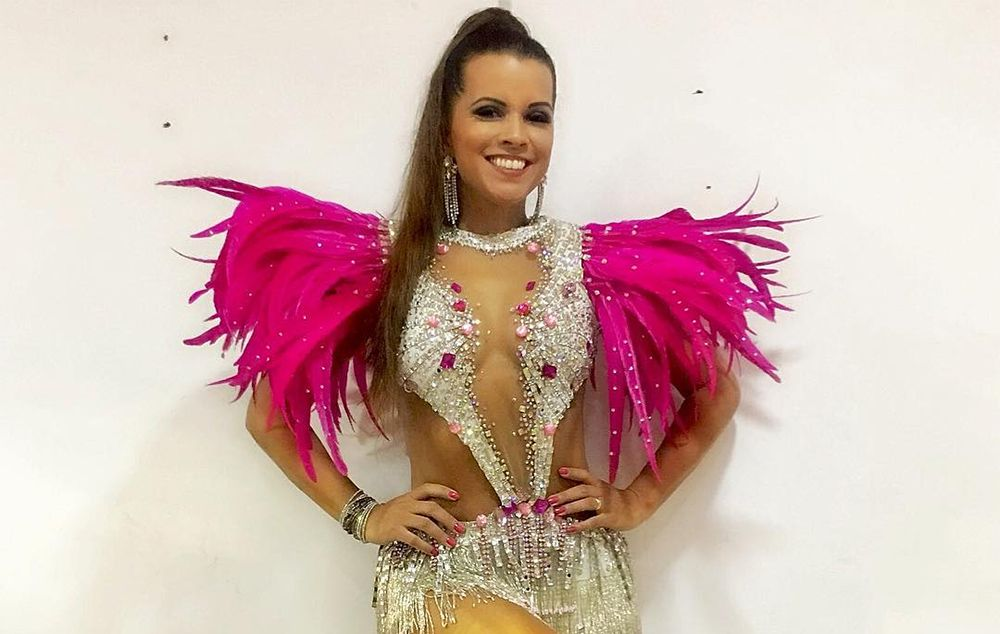 Renata Santos é anunciada como musa do Acadêmicos do Salgueiro