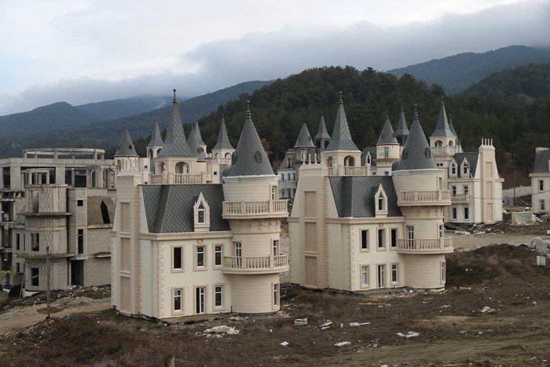 Vila dos castelos na Turquia / Divulgação